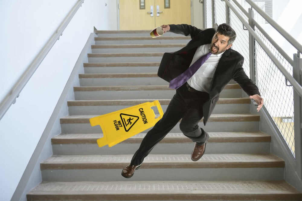 risk of stairs Often, these increase the risk of falling because they result in lost function, inactivity, depression, pain, or multiple medications 6 steps to reducing falls here are six.