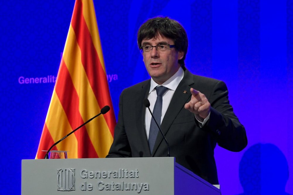 Catalan President Boldly Declared their Independence From Spain