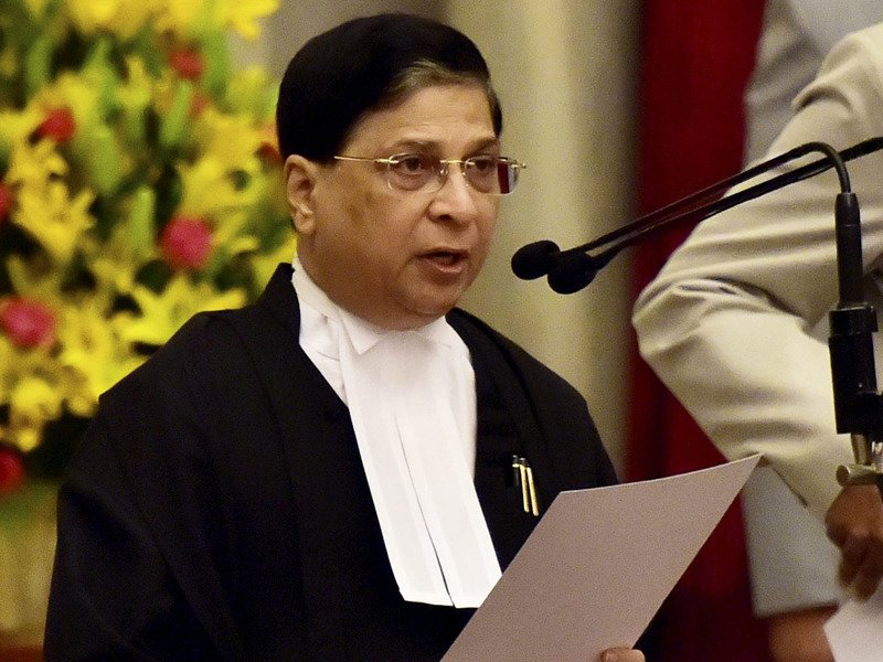 Incumbent Chief Justice Dipak Misra Junked the Petition and Decides to Preside over Quddusi Corruption Case
