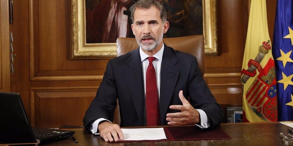King Felipe of Spain Slammed Puigdemont's Declaration of Independence