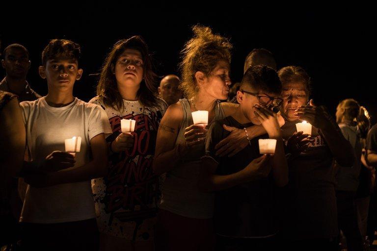 Prayer Vigil For the Victims of Rural Texas Church Shooting